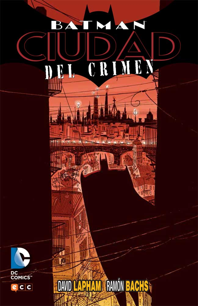 Batman: Ciudad del crimen Book Cover