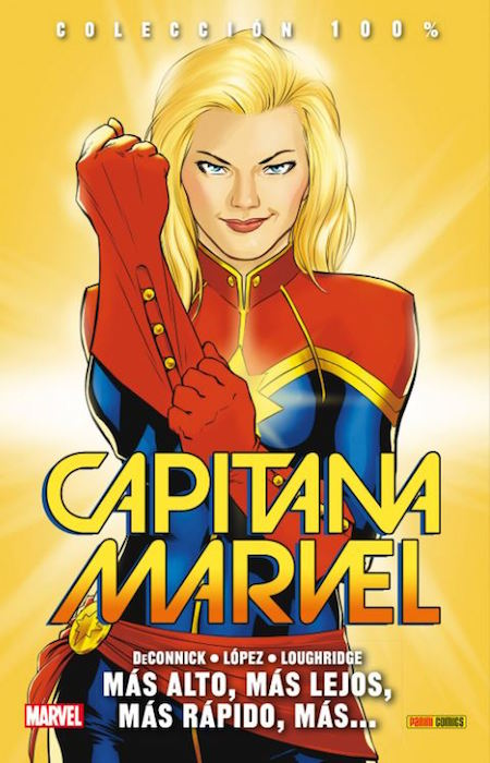 <h1>Reseña de Capitana Marvel, de Kelly Sue Deconnick y David López</h1>