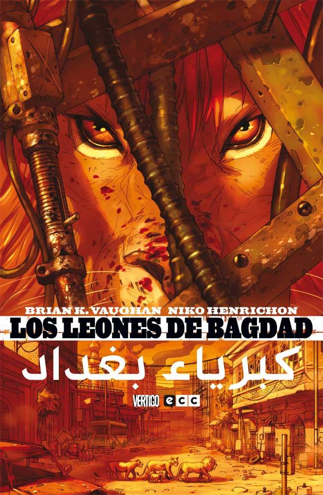Los leones de Bagdad Book Cover