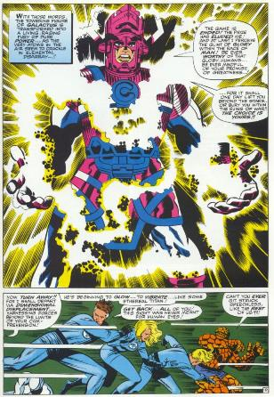 Fantastic Four and Galactus