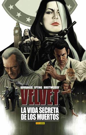 Velvet 2. La vida secreta de los muertos Book Cover