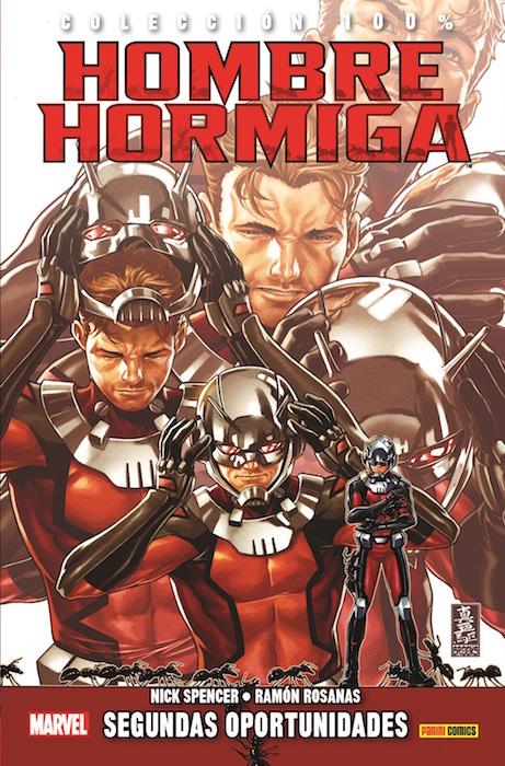 100% Marvel Hombre Hormiga Book Cover