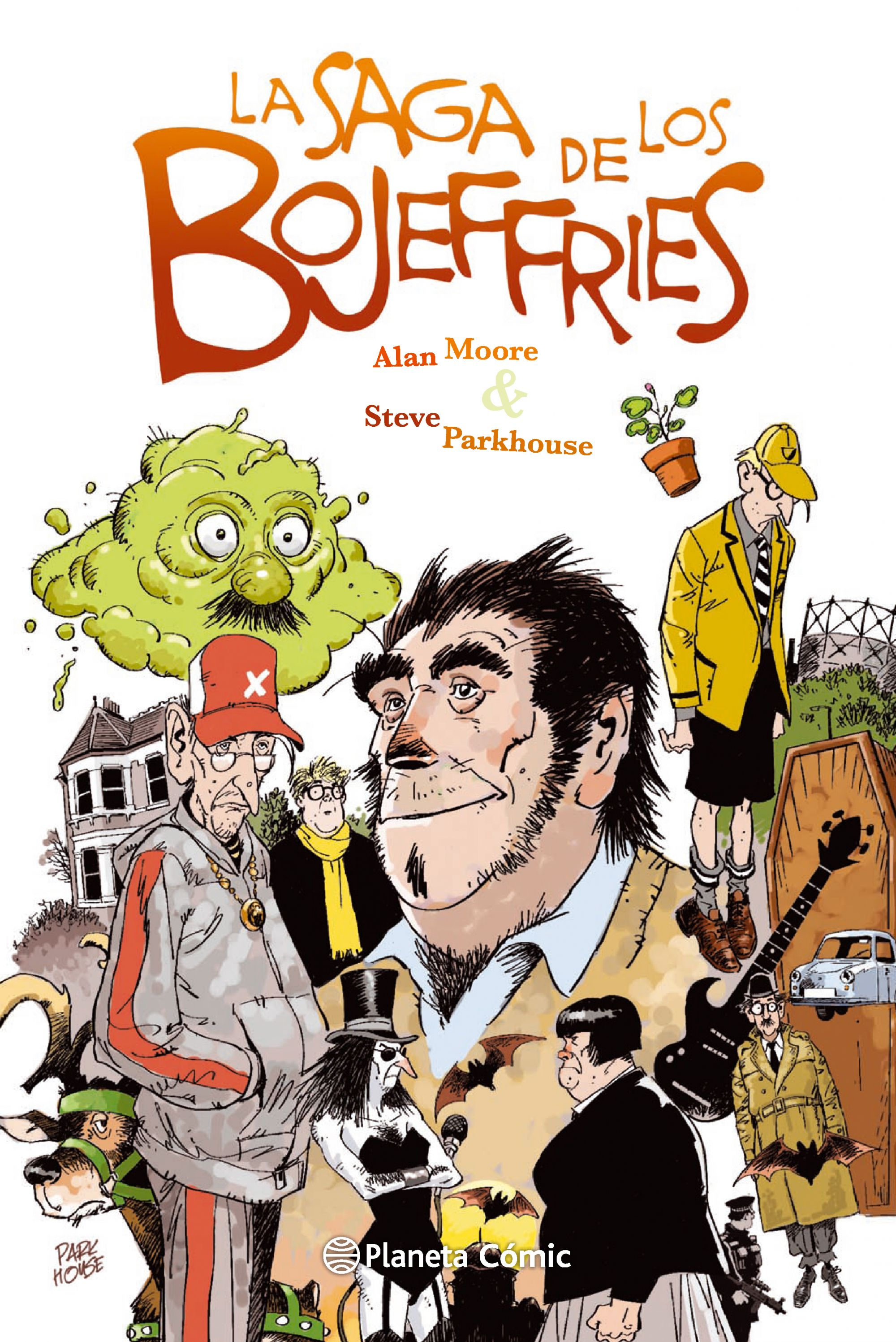 La Saga de los Bojeffries Book Cover