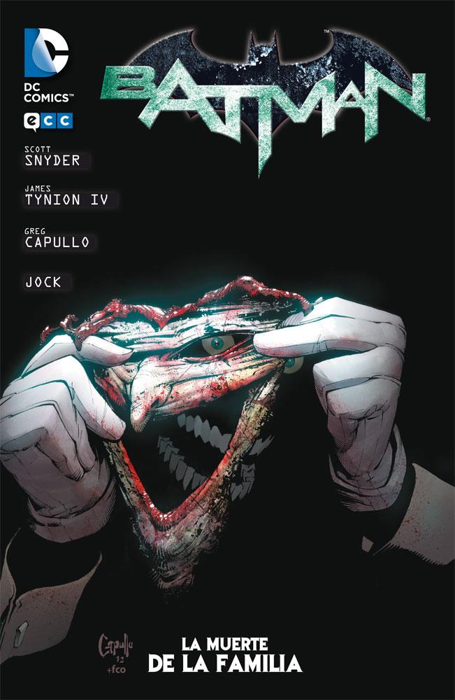 Batman, la muerte de la familia Book Cover