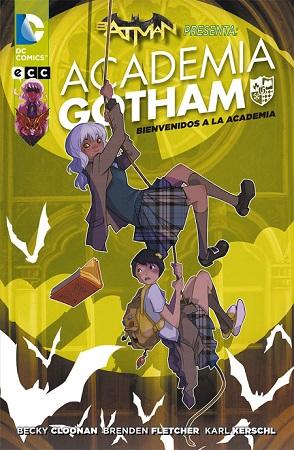 Academia Gotham - Bienvenidos a la Academia Book Cover