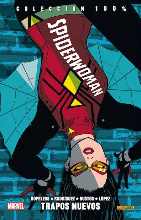 Spiderwoman: Trapos Nuevos Book Cover
