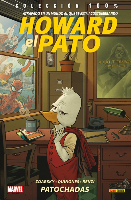 Howard el Pato. Patochadas Book Cover