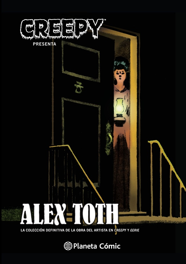 Creepy presenta Alex Toth Book Cover