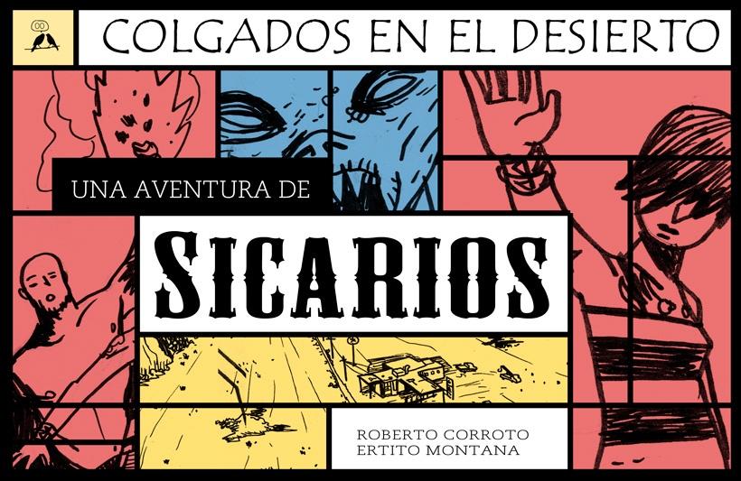Sicarios: Colgados en el desierto Book Cover