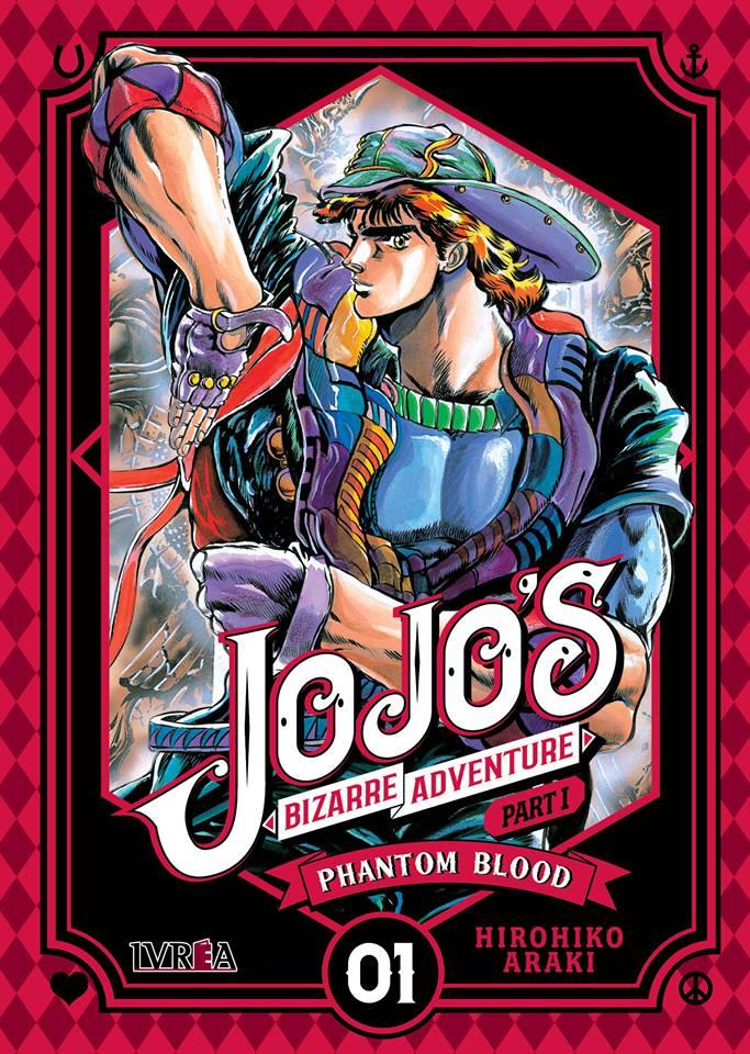 Jojo's Bizarre Adventure Book Cover
